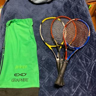 テニスラケットヨネックス・head・Wilsonの各種一本ずつ