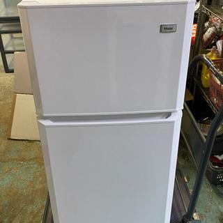 【ネット決済・配送可】ハイアール冷凍冷蔵庫2ドア2015年製