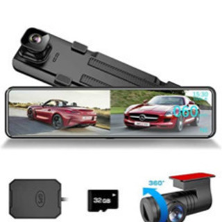 2021年最新型番 前後カメラ60FPS表示再生録画  前…