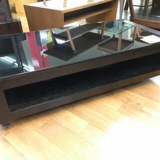 J079  ガラストップリビングテーブル  幅120cm