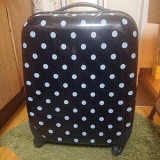 ジャンク品 ドット スーツケース