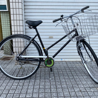 【中古自転車】26インチ変速なし ブリヂストン製 カゴ、ラ…