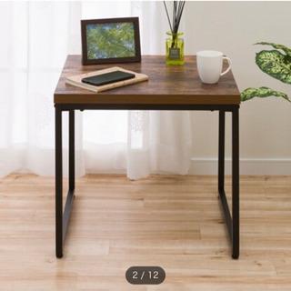 【ネット決済・配送可】ニトリのサイドテーブル