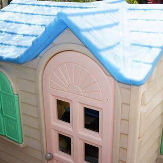 ままごとハウス 屋内でもOK 子供の遊び場 分解・組立簡単です。...