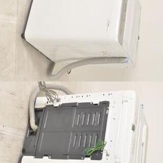 P-Ea016 高年式国産家電2点セット シャープ SJ-C17D(2017年) 冷蔵庫 167L 左開き/パナソニック NA-F50B11(2018年) 5㎏ 全自動洗濯機 - 尼崎市