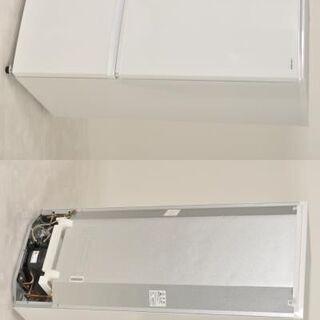 P-Ea016 高年式国産家電2点セット シャープ SJ-C17D(2017年) 冷蔵庫 167L 左開き/パナソニック NA-F50B11(2018年) 5㎏ 全自動洗濯機 − 兵庫県