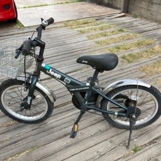Jeep子供用自転車 5〜6歳ぐらい?