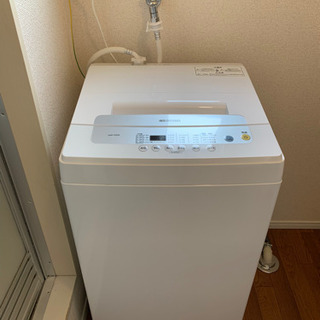 【引取先決定】全自動洗濯機 5.0kgIAW-T502Eホワイト