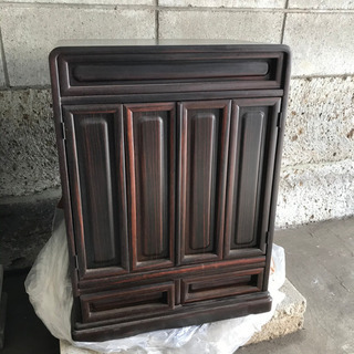 家具調仏壇 モダン H61×W44×D32cm ミニ 引き…