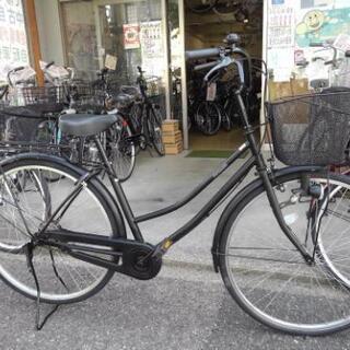 中古自転車1503 前後タイヤ新品! 27インチ ギヤなし…