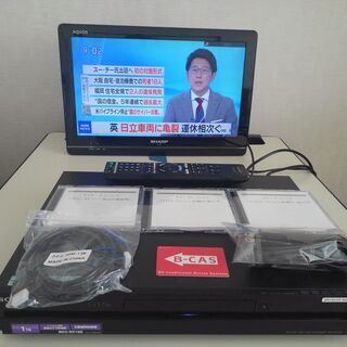 ソニー BDZ-RX100 HDD1TB   W録画 正常…