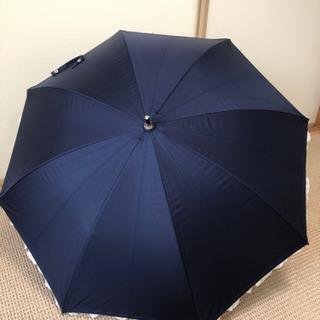 フリル晴雨兼用傘 ネイビー