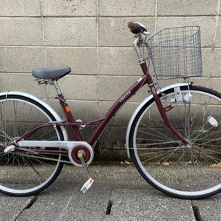 【中古自転車】27インチ内装3段変速 サドル、ライト、鍵新…