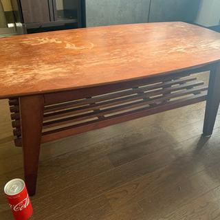 あげます▷  ローテーブル (一段棚つき)