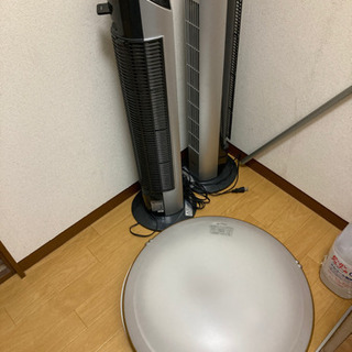 シーリングライト☆タワーファン