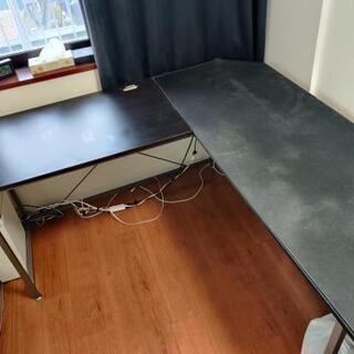 パソコンデスク 160cm L型