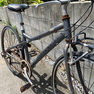 自転車 クロスバイク 無料 サビ多数