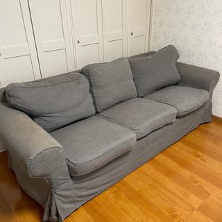 IKEA 3人掛けソファ EKTORP エークトルプ