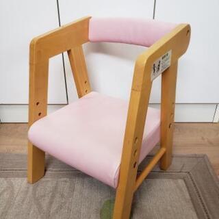子供イス 木のイス 家具屋さん ピンク
