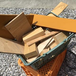 2×4木材 端材 買い物カゴ1カゴ分
