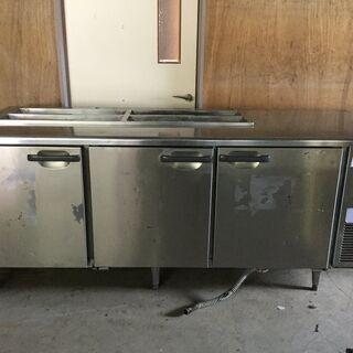 ホシザキ 業務用 台下冷蔵庫 3ドア ホテルパン コールド…