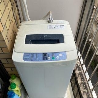 古い洗濯機ですが、如何でしょうか?
