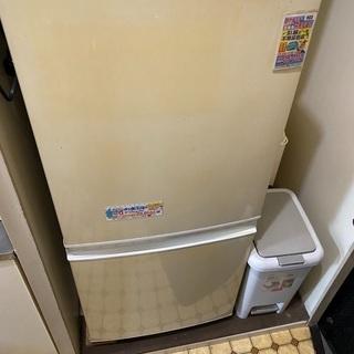 古い冷蔵庫です。冷えます。