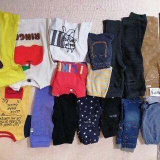 男の子90~95の半袖半ズボンと長ズボン