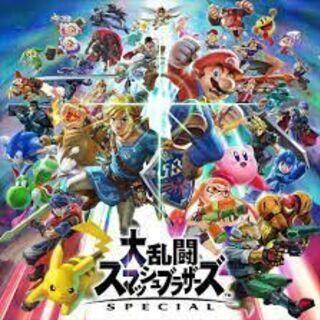 【ネット決済・配送可】Switchスマブラspecial