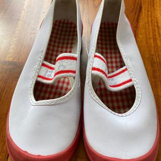 上履き18cm赤