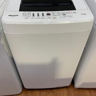 2018年製のHisense全自動洗濯機です!