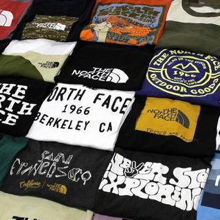 全てアメリカ直営店限定モデル ノースフェイス Tシャツ 大…