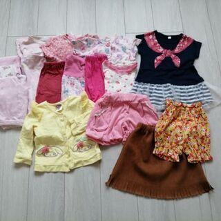90サイズ 女の子服(パジャマ)