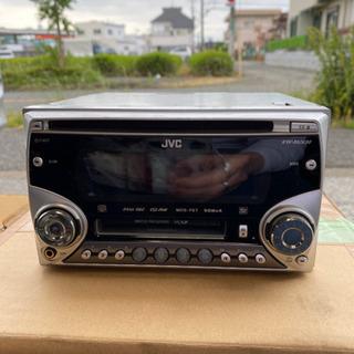 JVC CD MD 2DINデッキ ジャンク