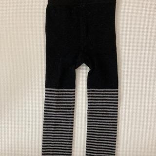 ベビーレギンス 春秋冬 洗濯だけの未使用 サイズ85cm(⑅•ᴗ...