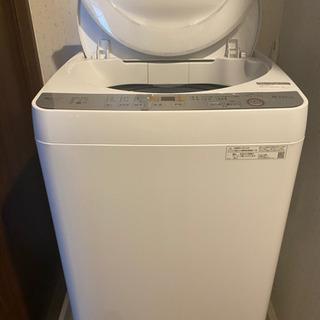 シャープ2019年式洗濯機,6kg