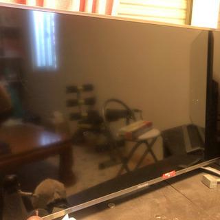 40型画面割れテレビ