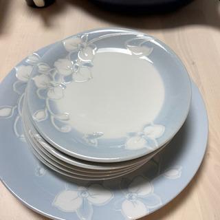 ハナエモリ ディナー皿 5枚+1枚セット