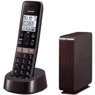 【 新製品・未使用 】シャープ コードレス電話機