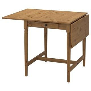 IKEA ダイニングテーブル 拡張可能