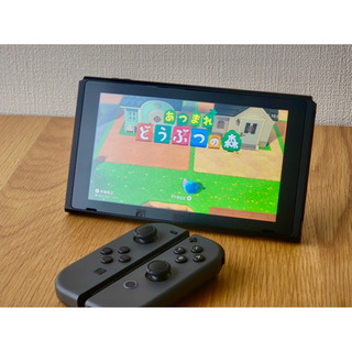 【無料】Nintendo Switch グレー