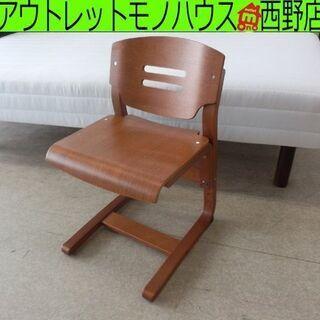 学習椅子 コスガ  高さ調整 木製 キッズチェア ダイニングチェ...