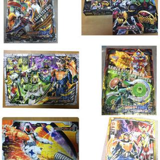 【ネット決済】パズル 6種類セット  知育 仮面ライダー