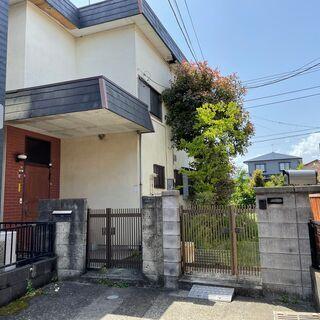 小田急線本厚木バス13分 建築条件なし売地42.5坪(古家有)
