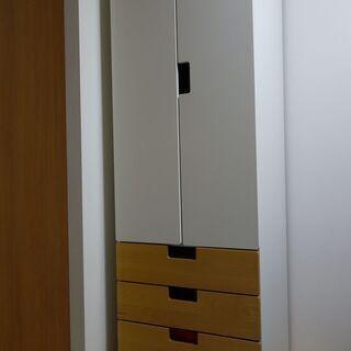 【商談中】IKEA STUVA 衣類収納 クローゼット ワードローブ