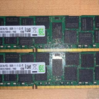 【ネット決済】SAMSUNG PC3L-12800R DDR3-...