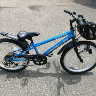 子供用自転車 22インチ 6段変速 奇麗な中古
