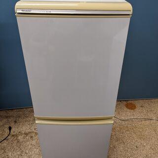 SHARP シャープ ノンフロン冷凍冷蔵庫 135L 2ドア 2...
