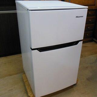 ハイセンス 2ドア 冷凍冷蔵庫 HR-B95A 2020年製 中...