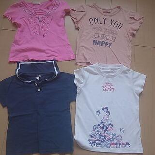 女の子半袖Tシャツ☆120☆4枚セット